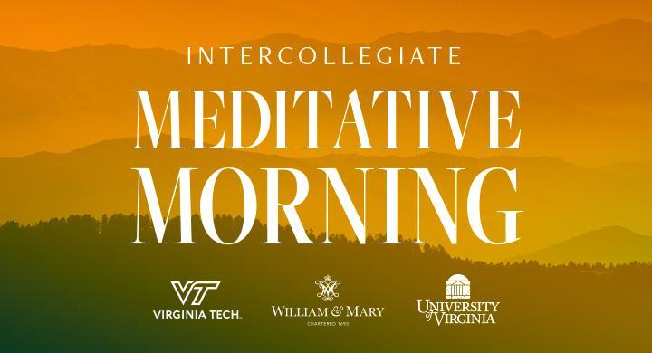 Intercollegiate Morning Meditation: A virtual community celebration
